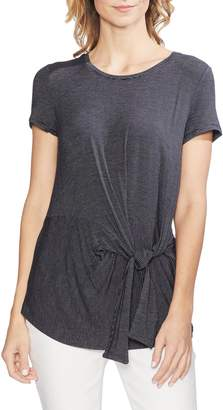 Vince Camuto Serene Stripe Knotted Tee