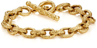 Cathy Waterman Women's Dogwood Oval-Link Bracelet $16,640 thestylecure.com