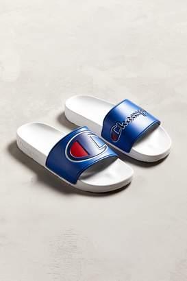 Champion Logo Mismatched Slide Sandal