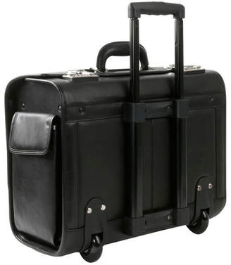 """Royce Leather Royce New York Rolling 15"""" Laptop Briefcase"""