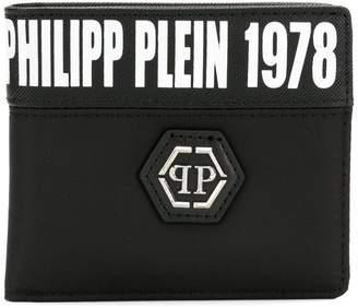 Philipp Plein logo bi-fold wallet