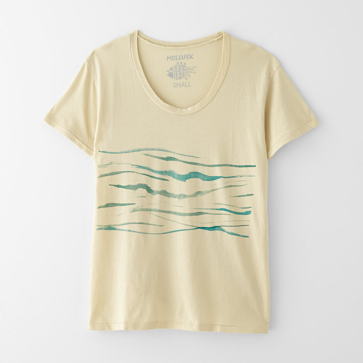 Steven Alan MOLLUSK little waves tee