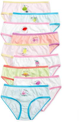 Maidenform 9-Pk. Fruity Days of the Week Cotton Brief Underwear, Little Girls & Big Girls