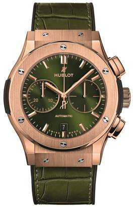 Hublot Classic Fusion King Gold Chronograph Watch 45mm