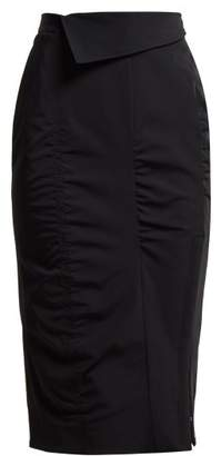 Altuzarra Porto High Rise Pencil Skirt - Womens - Black