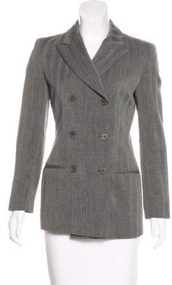 Calvin Klein Collection Wool Peak-Lapel Blazer