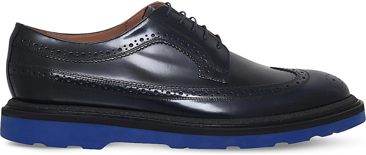 Paul SmithPaul Smith Grand leather Derby brogues