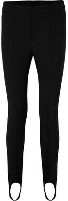 Moncler Stretch-twill Stirrup Pants - Black