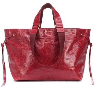 Isabel Marant Wardy leather shopper