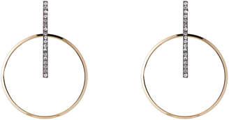 Panacea Pannee By Gold-Tone Bar & Hoop Earrings