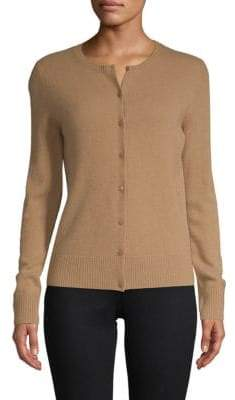 Saks Fifth Avenue Button Front Cashmere Cardigan
