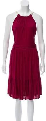 Gucci Sleeveless Midi Dress gold Sleeveless Midi Dress