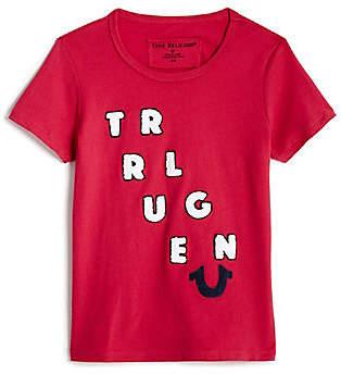 True Religion BIG KIDS CHENILLE TEE