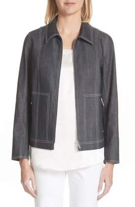 Lafayette 148 New York Chrissy Denim Jacket
