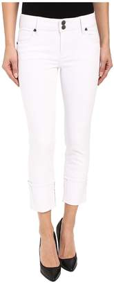 KUT from the Kloth Cameron Straight Leg Jeans in Optic White Women's Jeans
