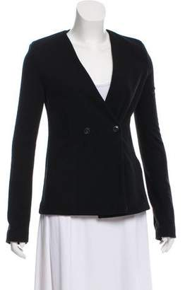 Alexander Wang Collarless Knit Blazer