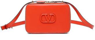 Valentino V Sling Crossbody Bag in Goldfish | FWRD