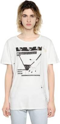 Enfants Riches Deprimes Thong Printed Cotton Jersey T-Shirt