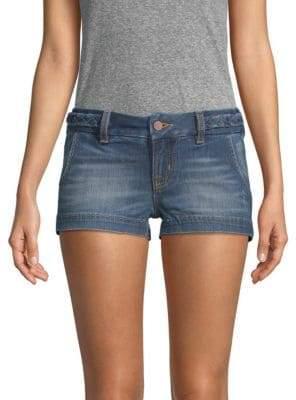 Miss Me Stretch Denim Shorts