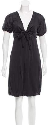 Trussardi Silk Knee-Length Dress w/ Tags