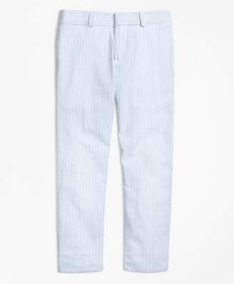 Brooks Brothers Seersucker Prep Suit Trousers
