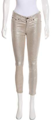Rag & Bone Metallic Leather Pants