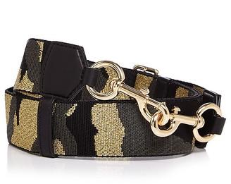 MARC JACOBS Camo Webbing Handbag Strap $85 thestylecure.com