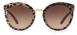 Dolce & Gabbana Dolce& Gabbana Dolce& Gabbana Women's DG4268 Leopard 52MM Cat Eye Sunglasses