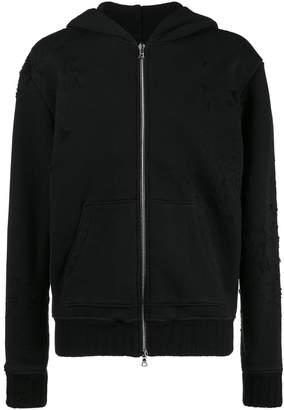 Amiri Shotgun Zip Up hoodie