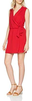 Molly Bracken Women's Robe Casual Party Dress, RED, Small