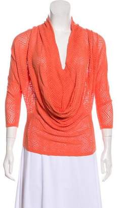Alice + Olivia Lightweight V-Neck Sweater