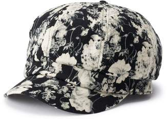 Apt. 9 Women's Floral Print Cabbie Hat