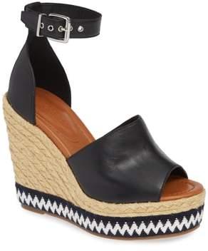 Topshop Wing Espadrille Wedge Sandal