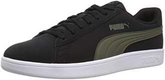 Puma Men's Smash V2 Sneaker charcoalgray-teamgold-whitegum M US
