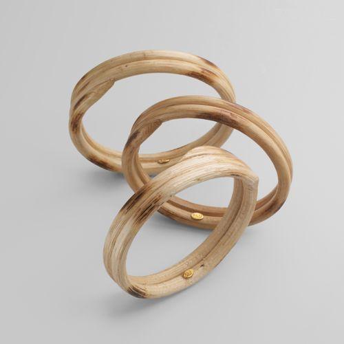 Kenneth Jay Lane Set of 3 Coil Bracelets