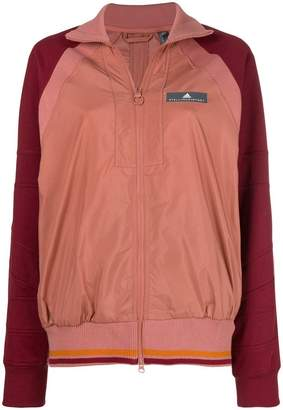 adidas by Stella McCartney contrast sleeved jacket