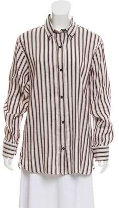 Isabel Marant Striped Button-Up Tunic w/ Tags