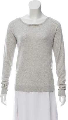 Diane von Furstenberg Silk and Cashmere Crew Neck Sweater