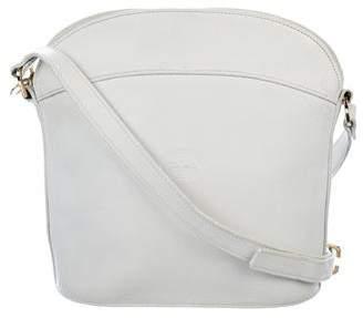 Longchamp Grained leather Crossbody Bag