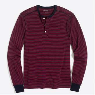 J.Crew Long-sleeve striped henley