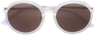 Linda Farrow Gallery Linda Farrown x Dries Van Noten round frame sunglasses
