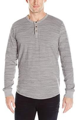 Lucky Brand Men's Lived-in Stripe Henley Shirt