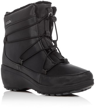 Khombu Ashlyn Cold Weather Booties $85 thestylecure.com