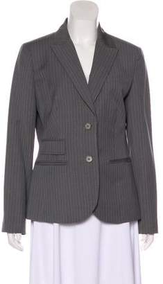 Brooks Brothers Wool Pinstripe Blazer