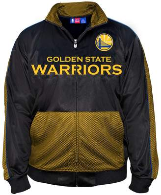 Majestic Big & Tall Golden State Warriors Tricot Track Jacket