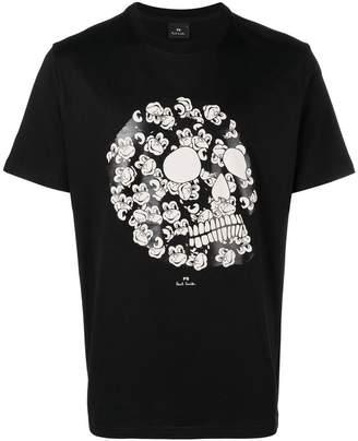 Paul Smith monkey skull T-shirt