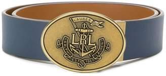 Lauren Ralph Lauren embossed buckle belt