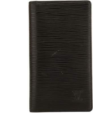Louis Vuitton Noir Epi Pocket Agenda Cover (4015015)