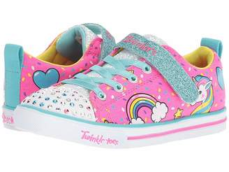 Skechers Twinkle Toes - Sparkle Lite 10988L Lights (Little Kid/Big Kid)