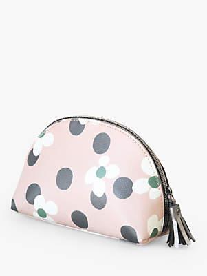 Caroline Gardner Floral Spot Makeup Bag